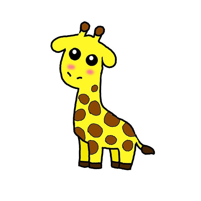 How To Draw A Giraffe Step By Step Easy Drawing Guides Drawing Howtos