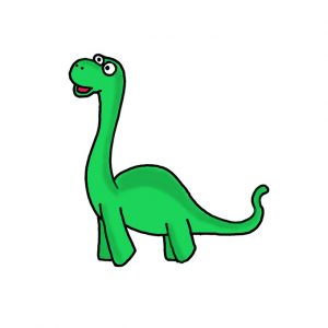 How to Draw a Brontosaurus