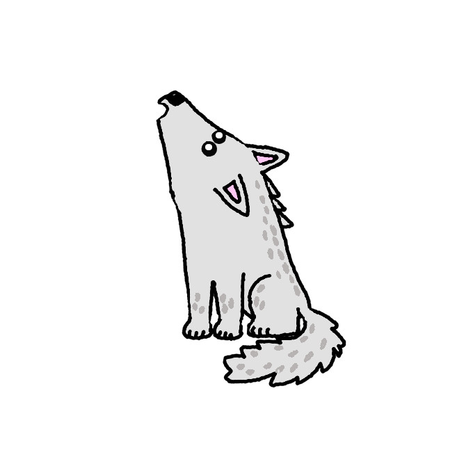 How To Draw A Wolf Step By Step Easy Drawing Guides Drawing Howtos