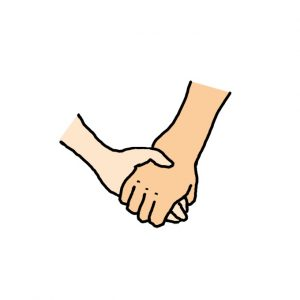 How to Draw Holding Hands