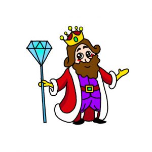 How to Draw a King