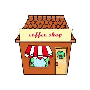 How to Draw a Cafe