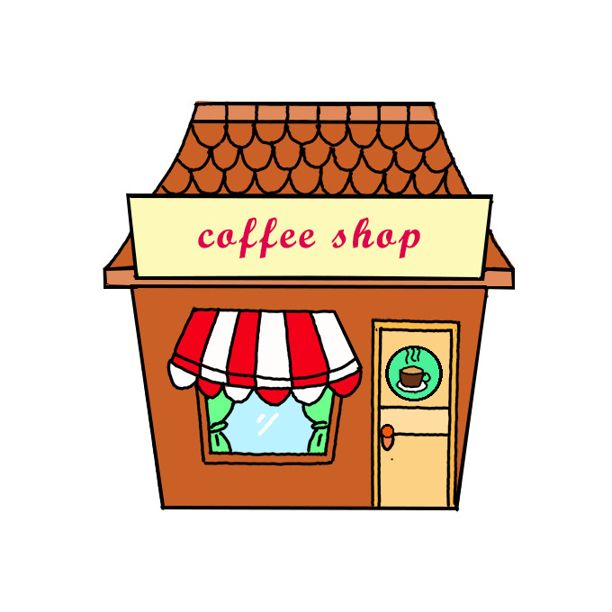 How To Draw A Cafe Step By Step Easy Drawing Guides Drawing Howtos