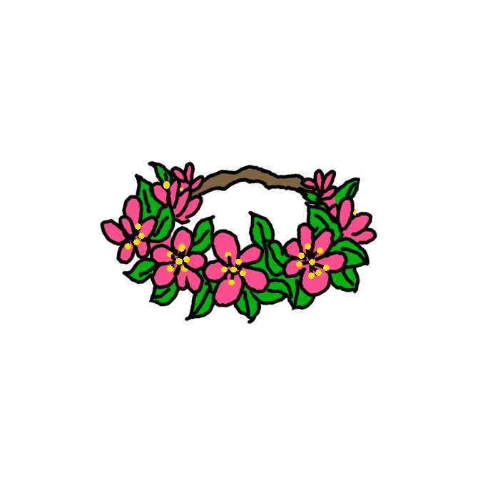 How To Draw A Flower Crown Step By Step Easy Drawing Guides Drawing Howtos