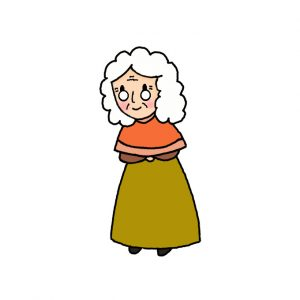 How to Draw a Grandma