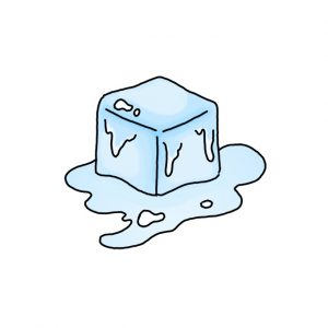 How to Draw an Ice Cube