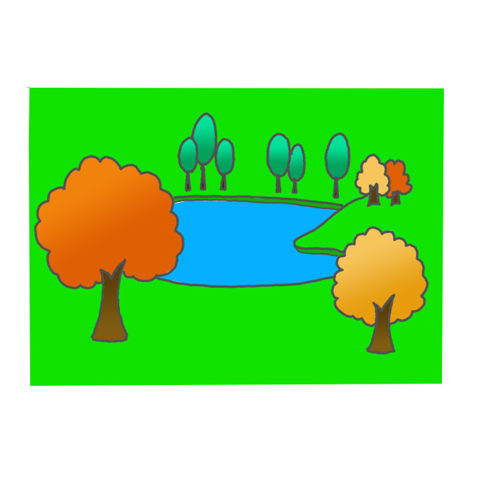 How To Draw A Lake Step By Step Easy Drawing Guides Drawing Howtos