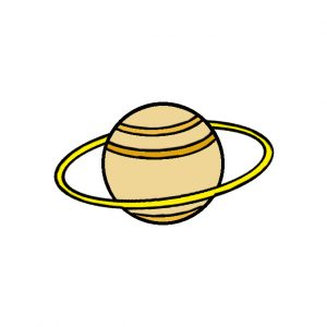 How to Draw the Saturn