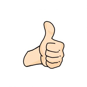 How to Draw a Thumbs Up