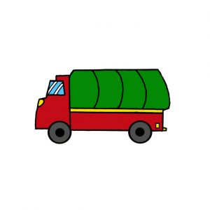 How to Draw a Truck