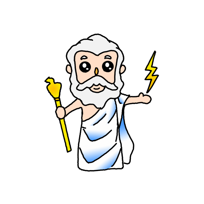 How To Draw Zeus Step By Step Easy Drawing Guides Drawing Howtos