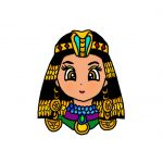 How to Draw Ancient Egypt Cleopatra