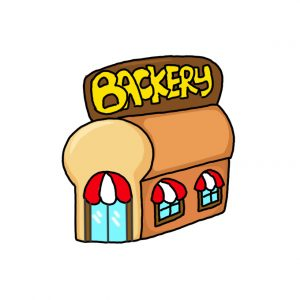 How to Draw a Bakery
