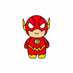 How to Draw The Flash Cute