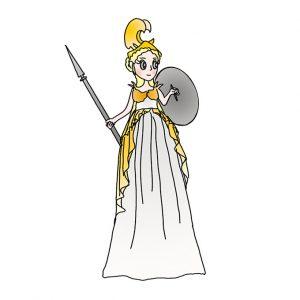 How to Draw Athena