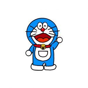 How to Draw Doraemon