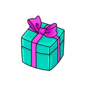 How to Draw a Gift