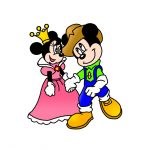 How to Draw Mickey And Minnie