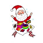 How to Draw Santa Claus and Gifts